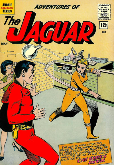 Adventures of the Jaguar Vol 1 6