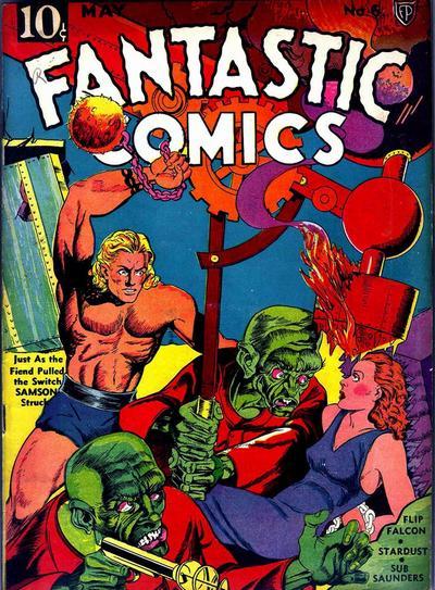 Fantastic Comics Vol 1 6