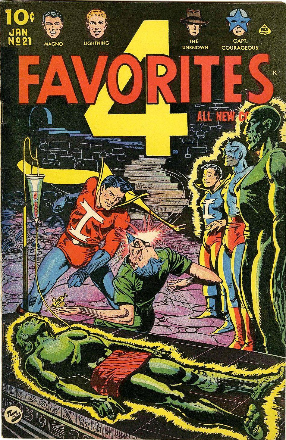 Four Favorites Vol 1 21