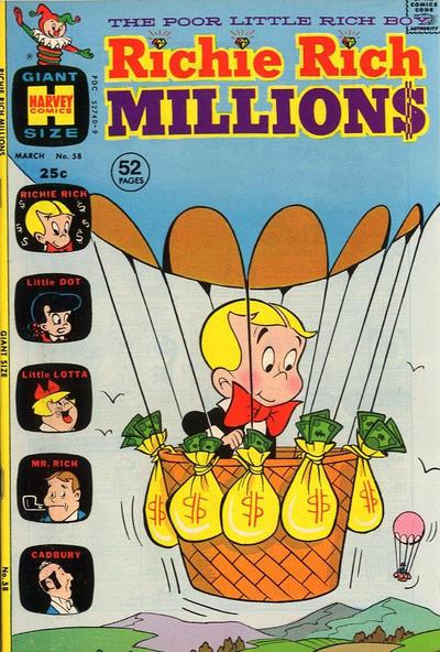 Richie Rich Millions Vol 1 58