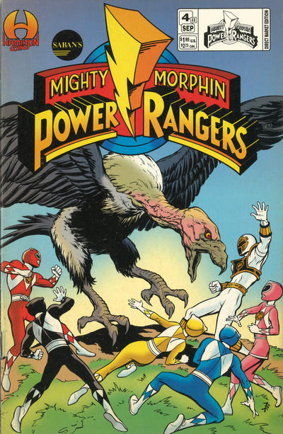 Saban's Mighty Morphin Power Rangers Vol 2 4