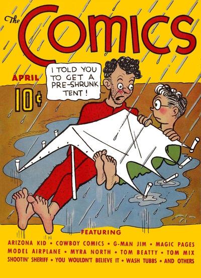 The Comics Vol 1 2