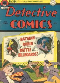 Detective Comics Vol 1 104