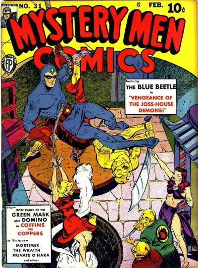 Mystery Men Comics Vol 1 31