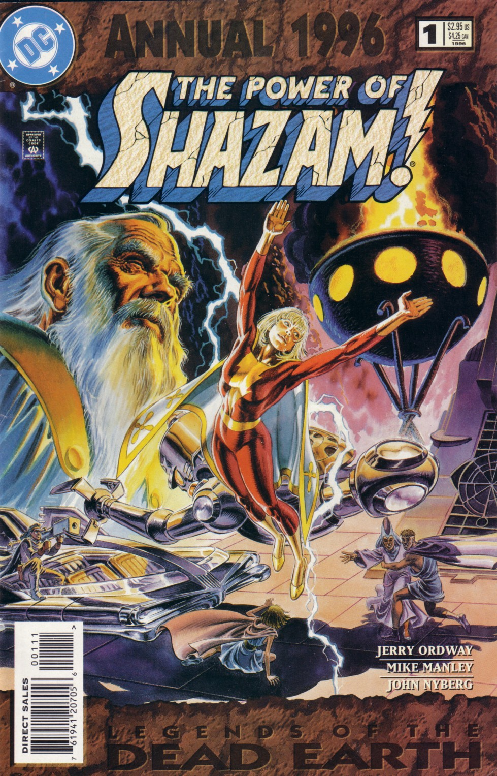 Power of Shazam Annual Vol 1 1