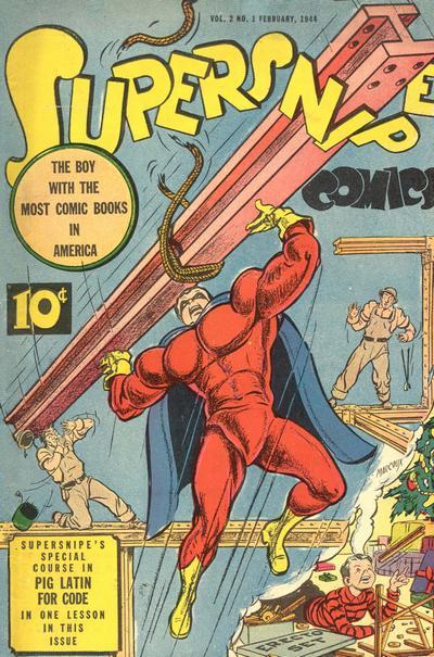 Supersnipe Comics Vol 1 13