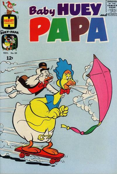 Baby Huey and Papa Vol 1 20