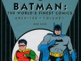 Batman: The World's Finest Comics Archives Vol 1 (Collected)