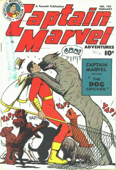 Captain Marvel Adventures Vol 1 105