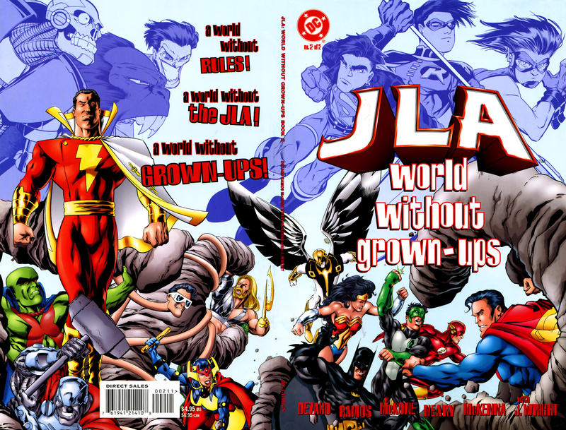 JLA: World Without Grown-Ups Vol 1 2