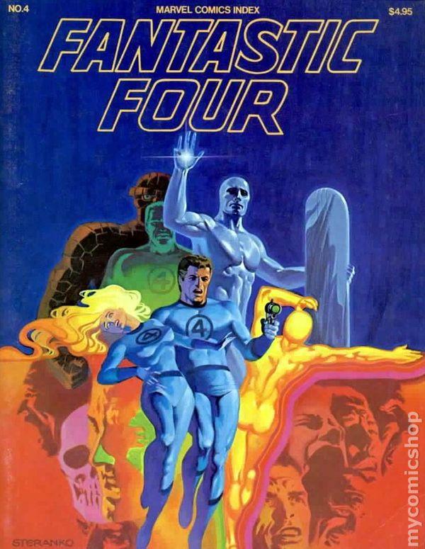 Marvel Comics Index Vol 1 4