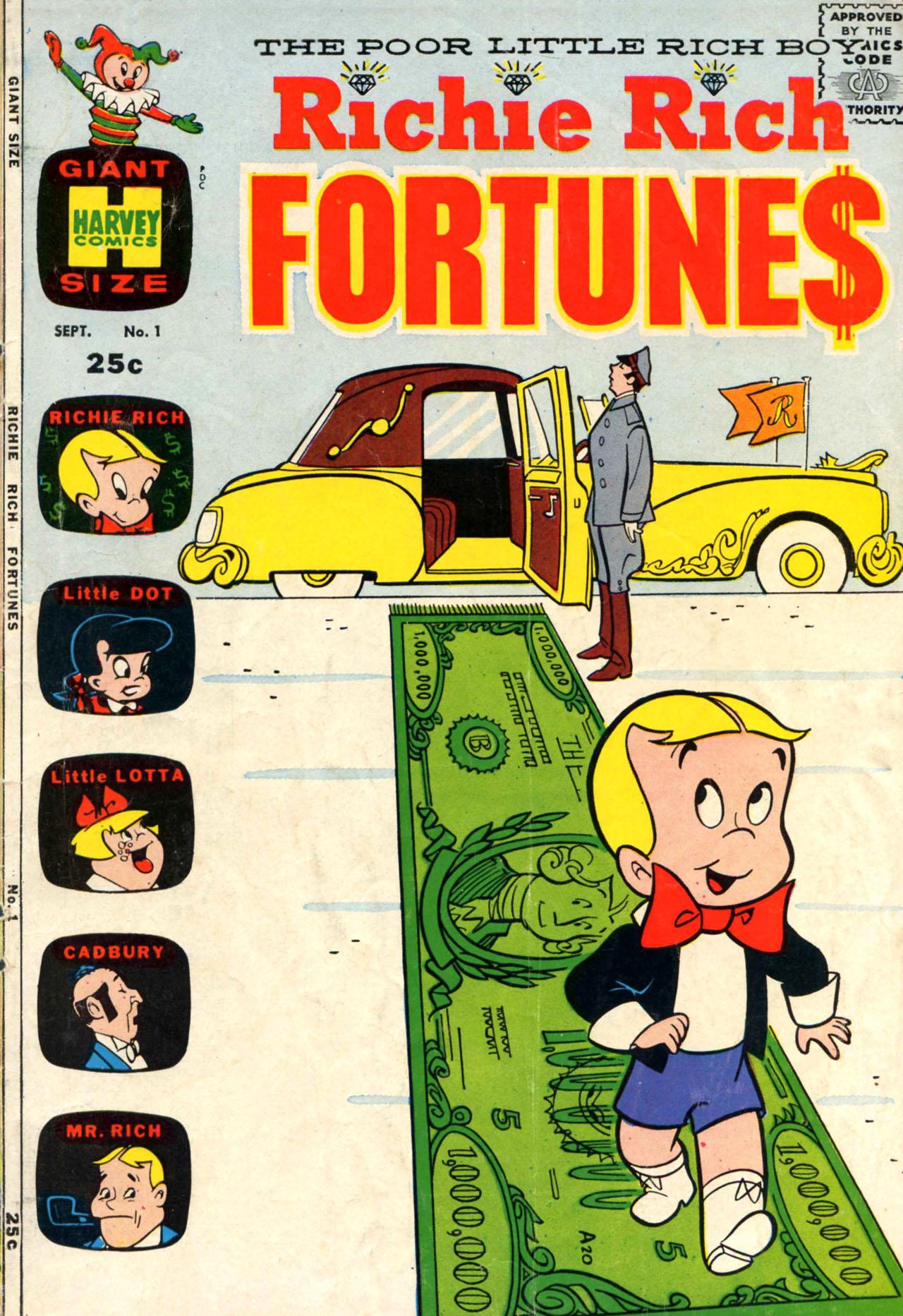 Richie Rich Fortunes Vol 1