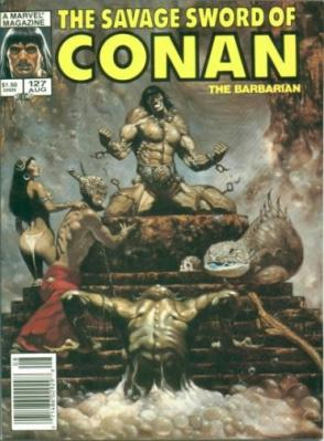 Savage Sword of Conan Vol 1 127