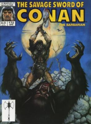 Savage Sword of Conan Vol 1 172
