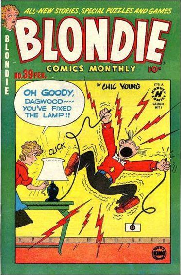 Blondie Comics Vol 1 39