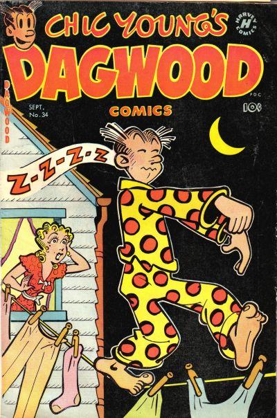 Dagwood Comics Vol 1 34
