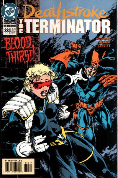 Deathstroke the Terminator Vol 1 38