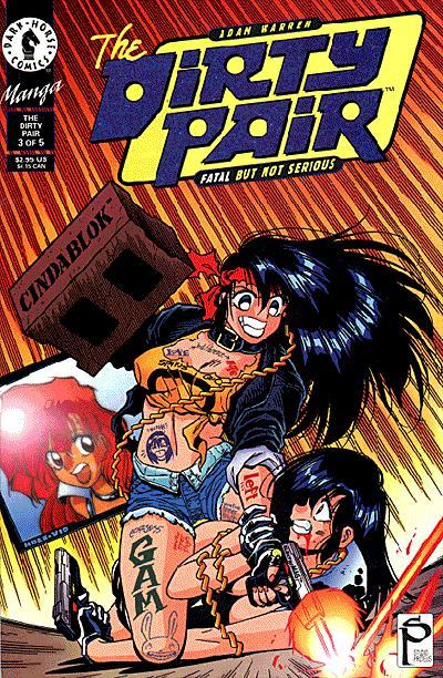 The Dirty Pair: Fatal But Not Serious Vol 1 3