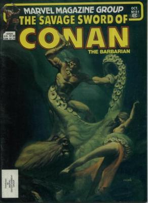 Savage Sword of Conan Vol 1 81