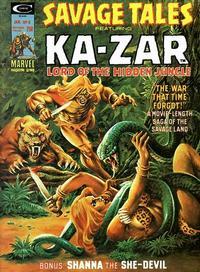 Savage Tales Vol 1 8