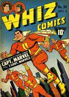 Whiz Comics Vol 1 34