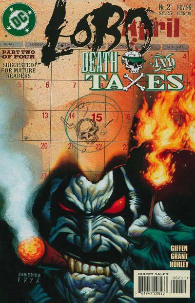 Lobo: Death and Taxes Vol 1 2