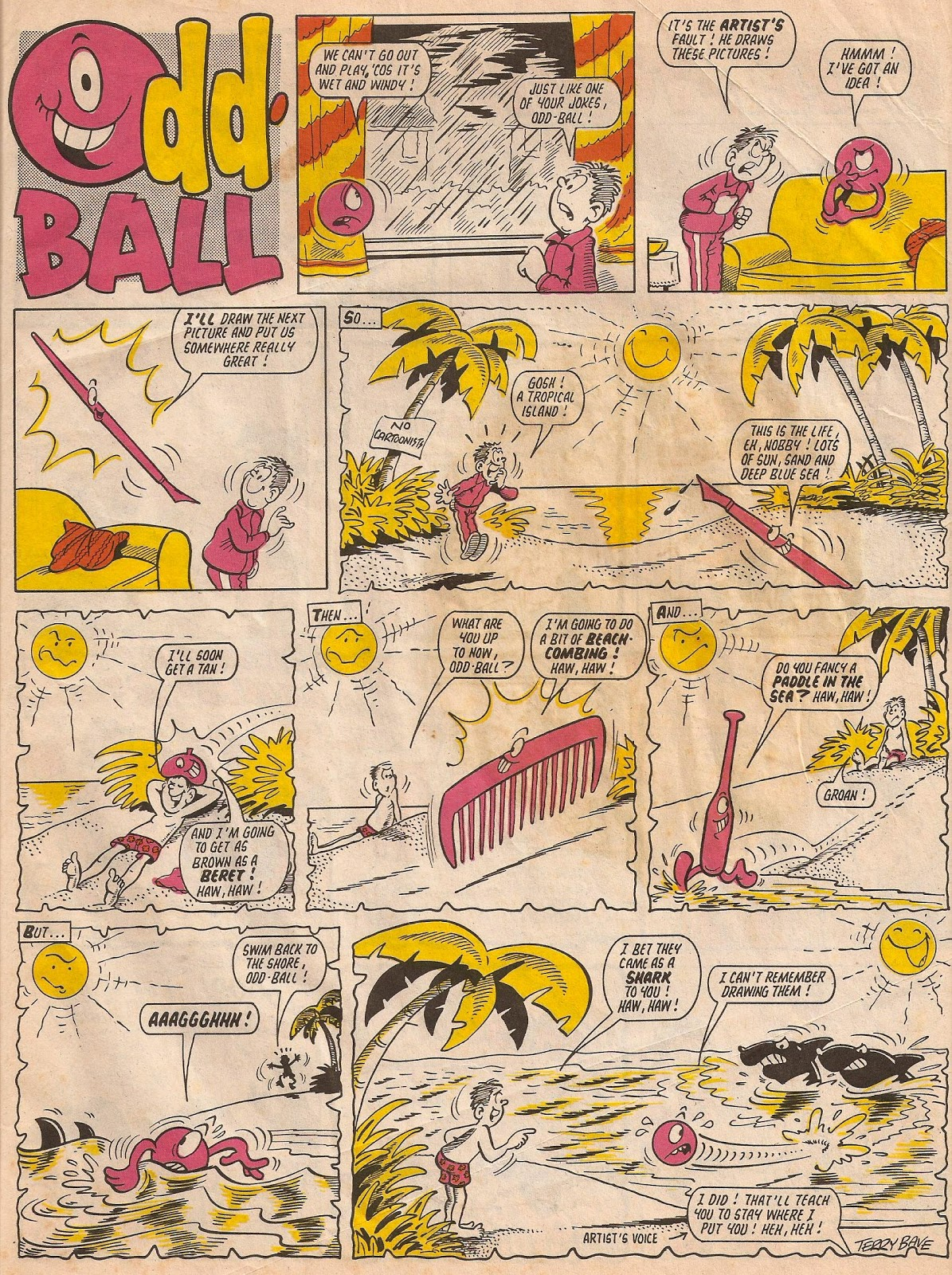 Odd Ball (comic strip)