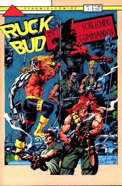 Ruck Bud Webster and his Screeching Commandos Vol 1 1