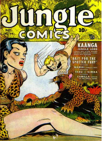 Jungle Comics Vol 1 34