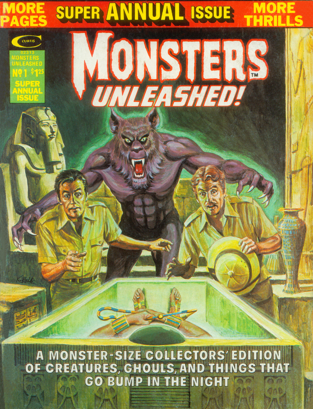 Monsters Unleashed Annual Vol 1 1