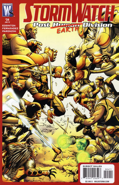 Stormwatch: Post Human Division Vol 1 24