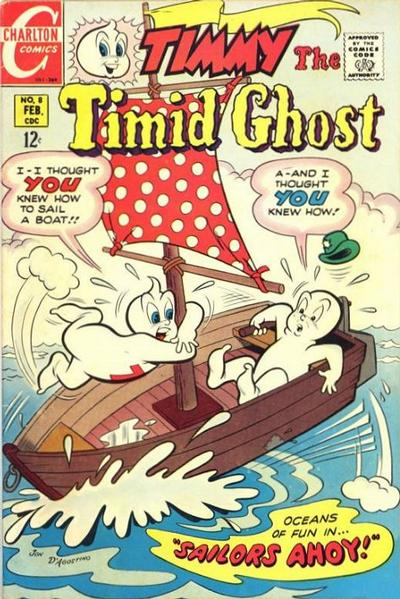 Timmy the Timid Ghost Vol 2 8
