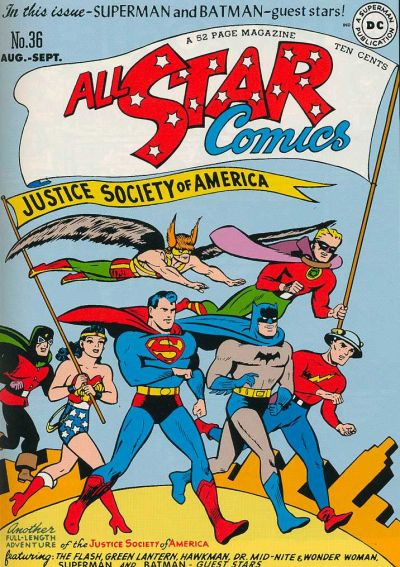 All-Star Comics Vol 1 36