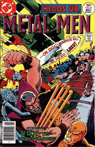 Metal Men Vol 1 51