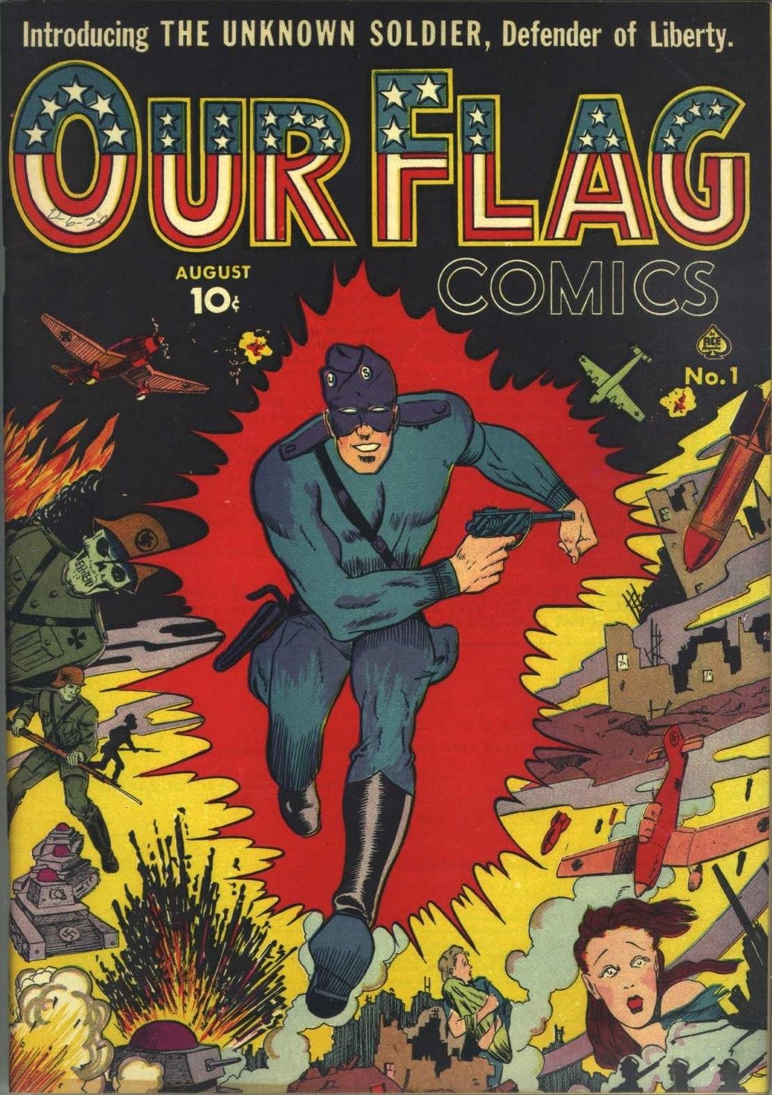 Our Flag Comics Vol 1