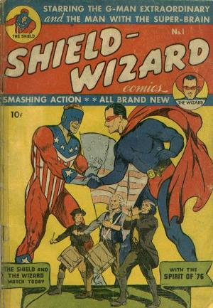 Shield-Wizard Comics Vol 1 1