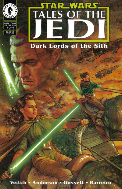 Star Wars: Tales of the Jedi – Dark Lords of the Sith Vol 1 1
