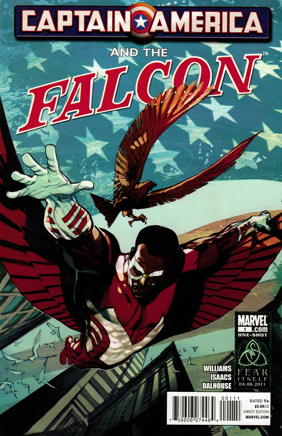 Captain America and Falcon Vol 1 1