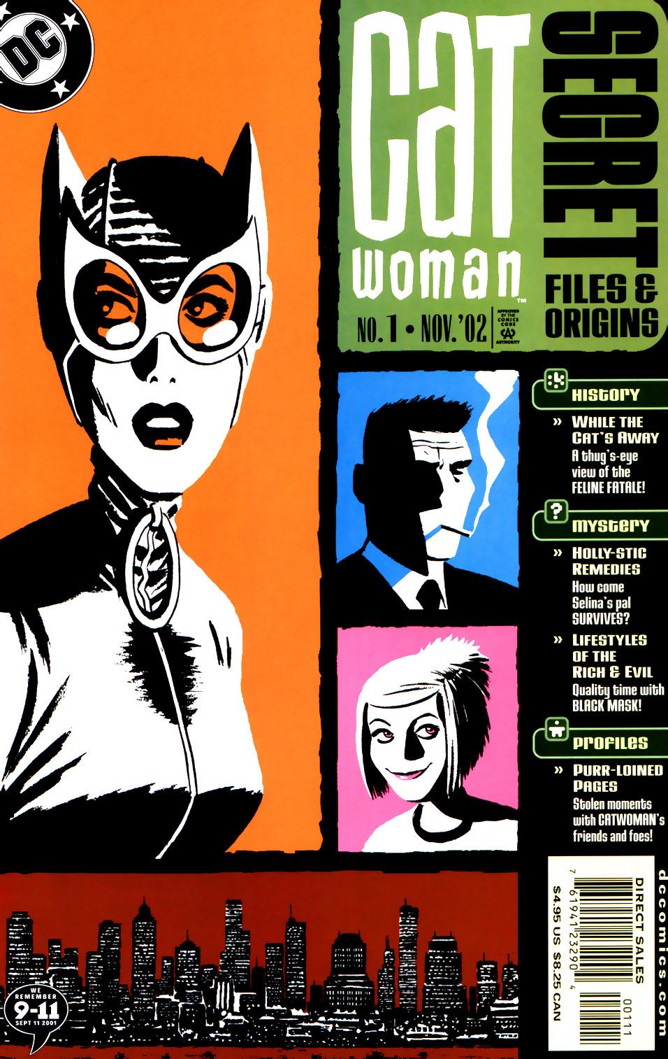 Catwoman Secret Files and Origins Vol 1 1