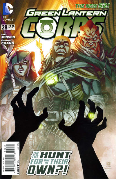 Green Lantern Corps Vol 3 28