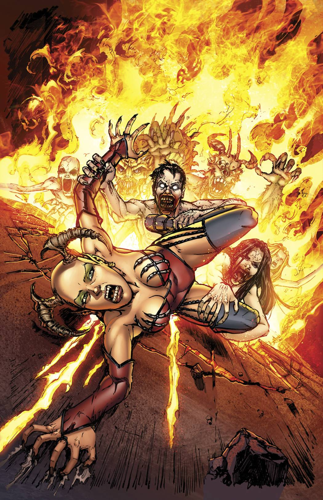Grimm Fairy Tales Presents Inferno: Rings of Hell Vol 1 2