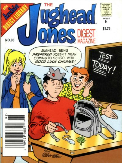 Jughead Jones Comics Digest Vol 1 98