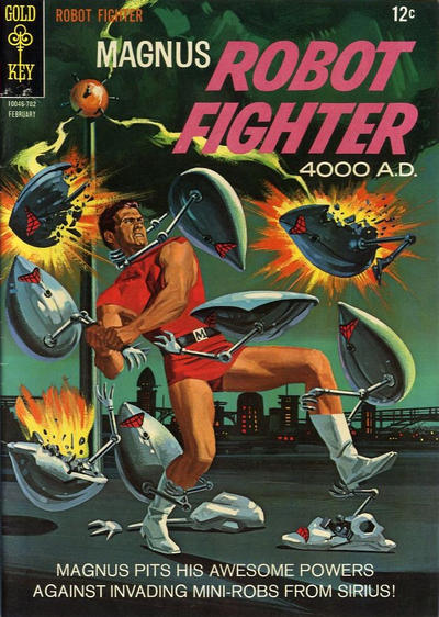 Magnus, Robot Fighter Vol 1 17