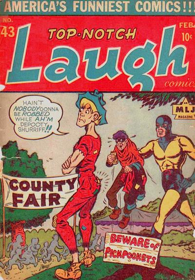 Top-Notch Laugh Comics Vol 1 43