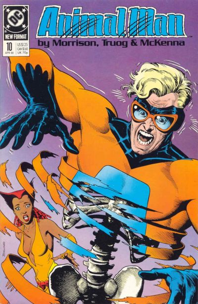 Animal Man/Covers