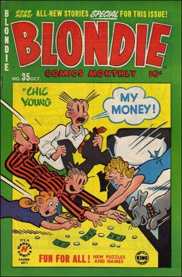 Blondie Comics Vol 1 35