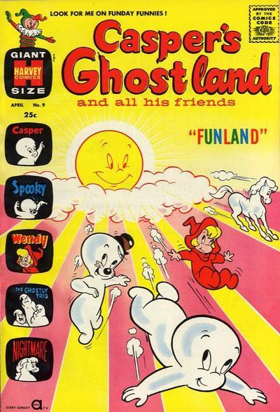 Casper's Ghostland Vol 1 9