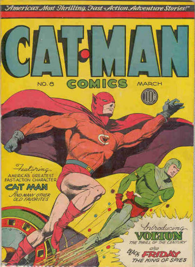 Cat-Man Comics Vol 1 8