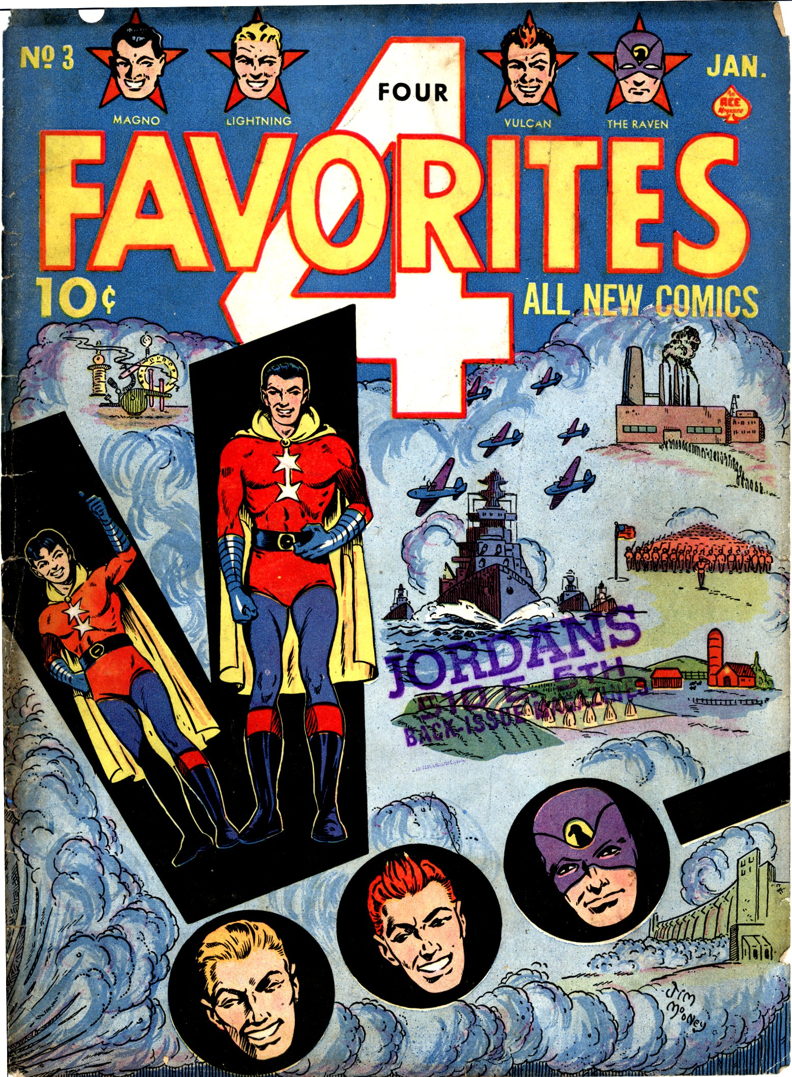 Four Favorites Vol 1 3