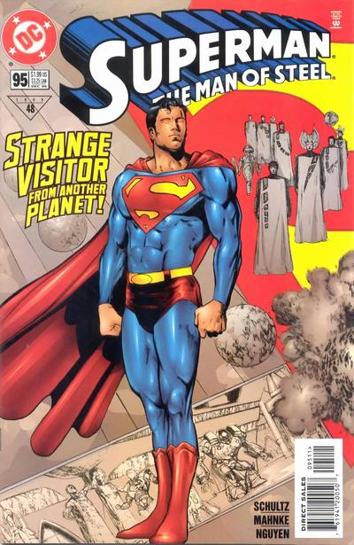 Superman: Man of Steel Vol 1 95